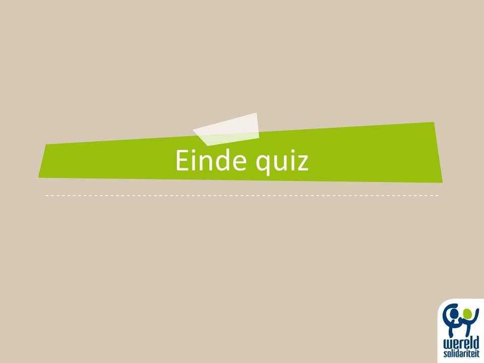 Einde quiz