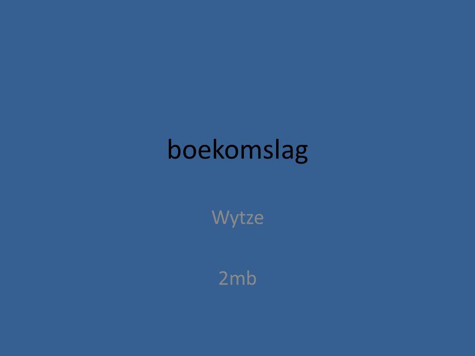 boekomslag Wytze 2mb