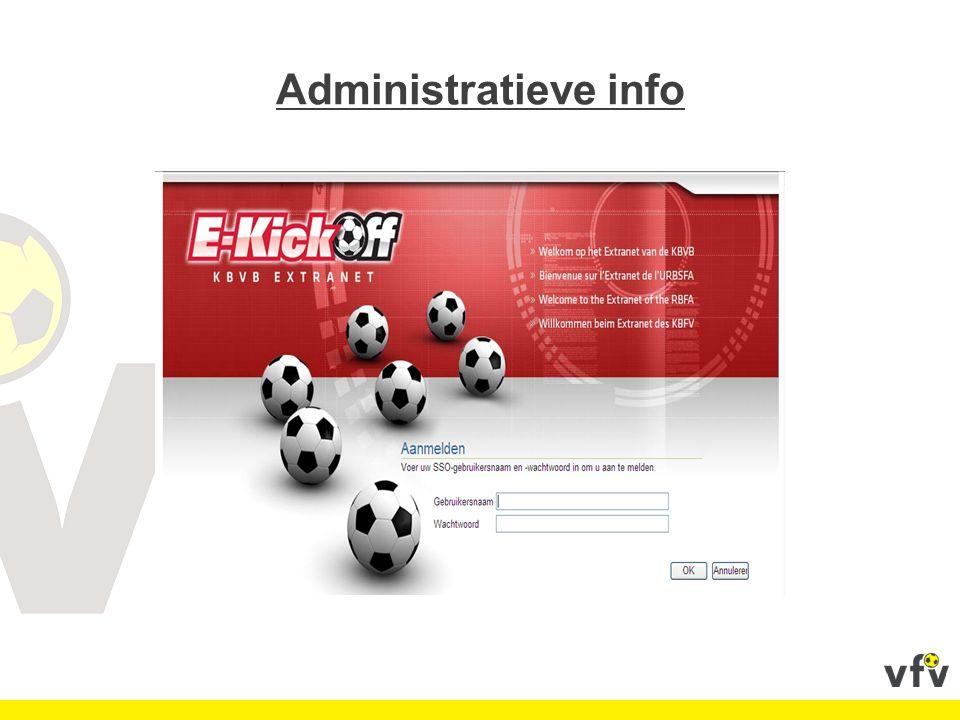 Raadpleeg meermaals per week uw e-kickoff.