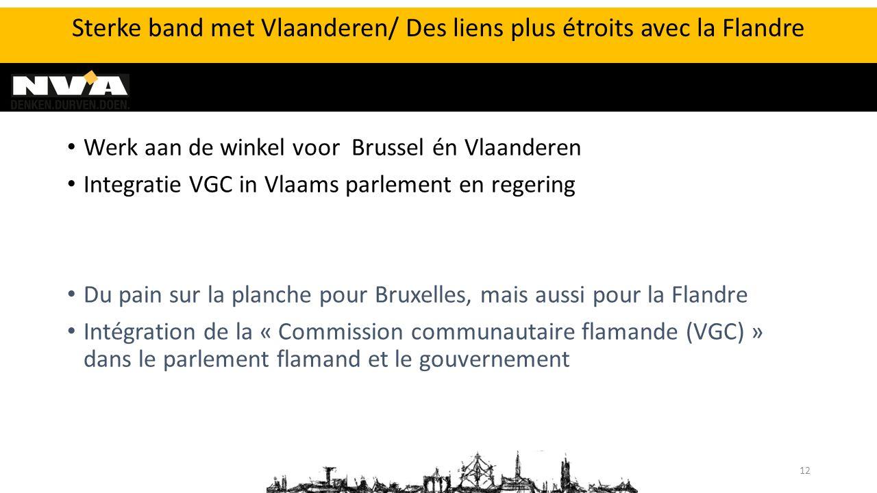 Werk aan de winkel voor Brussel én Vlaanderen Integratie VGC in Vlaams parlement en regering Du pain sur la planche pour Bruxelles, mais aussi pour la