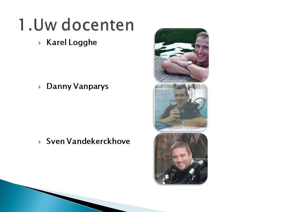 Karel Logghe  Danny Vanparys  Sven Vandekerckhove