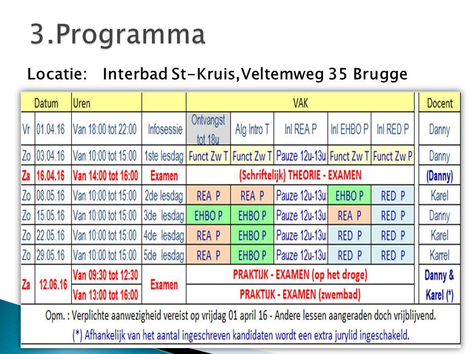 Locatie: Interbad St-Kruis,Veltemweg 35 Brugge