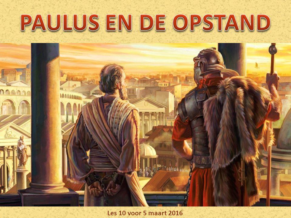 Paulus zette in zijn brieven de scene van de Grote Strijd uiteen: