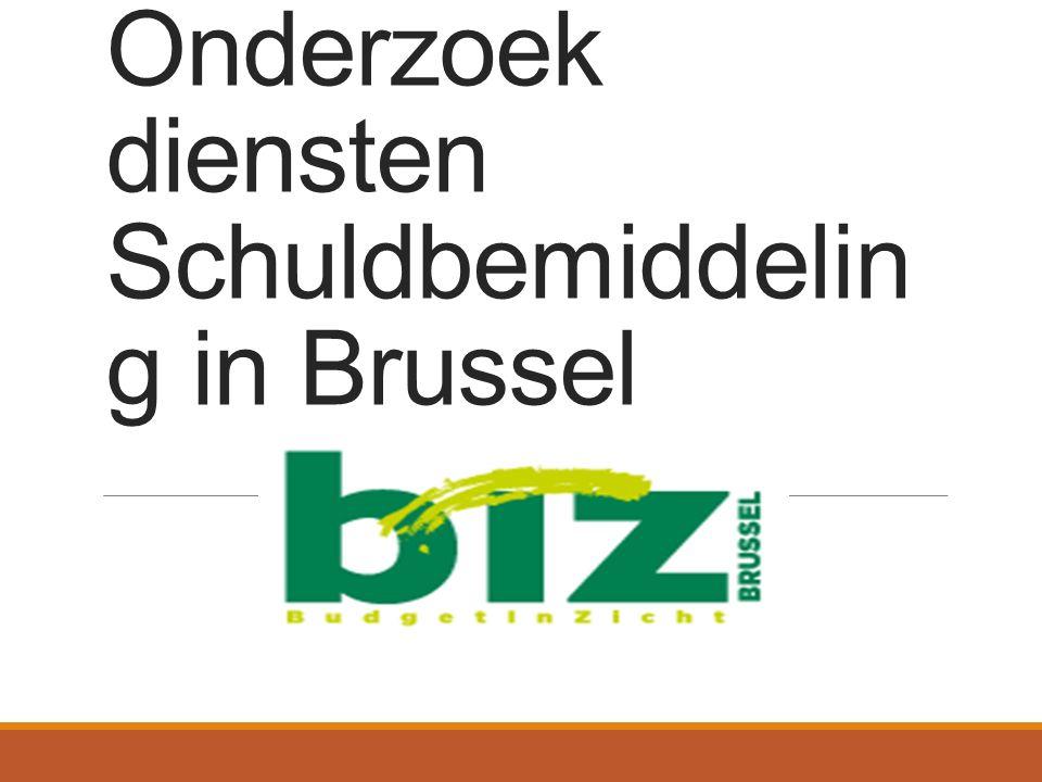 Onderzoek diensten Schuldbemiddelin g in Brussel