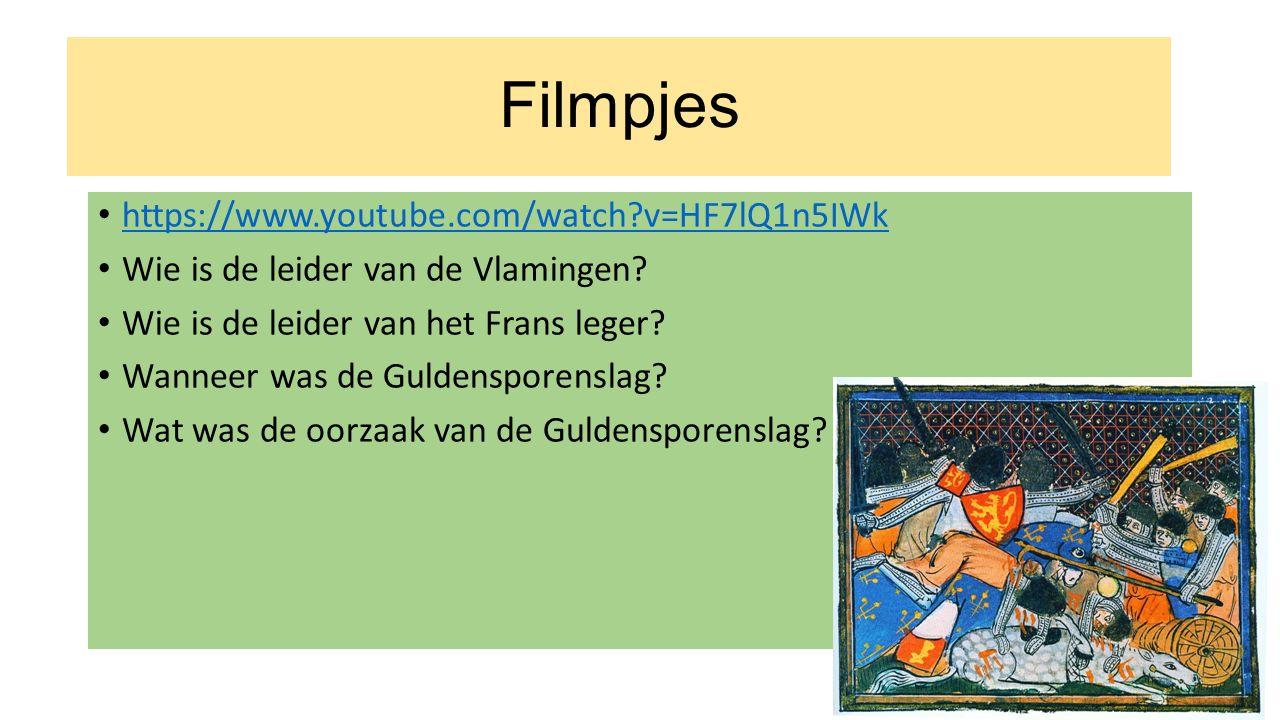 https://www.youtube.com/watch?v=HF7lQ1n5IWk Wie is de leider van de Vlamingen.