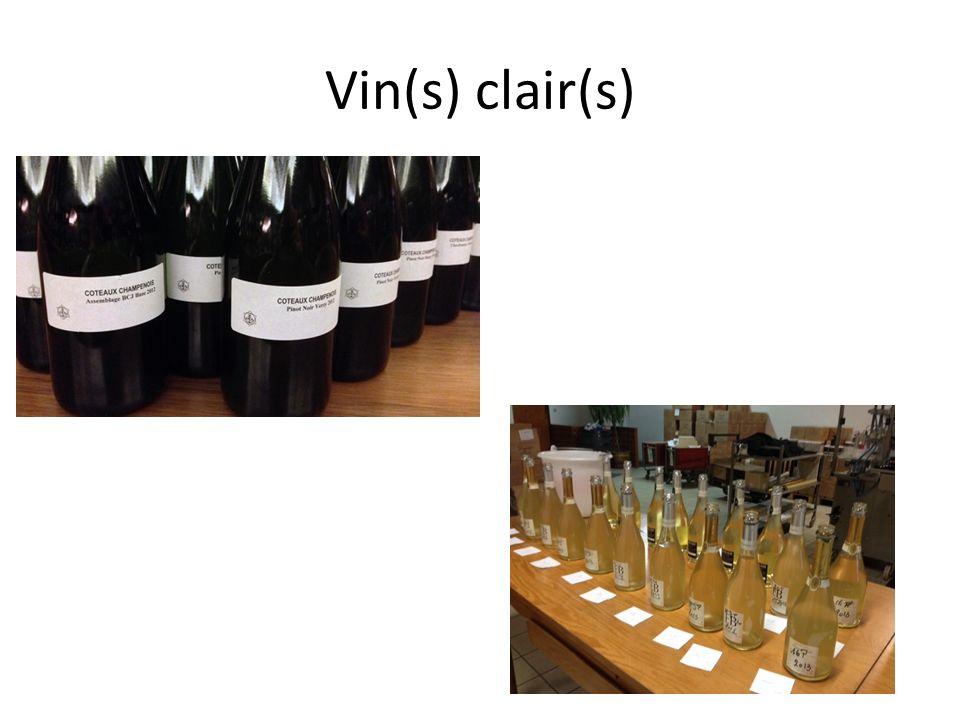 Vin(s) clair(s)