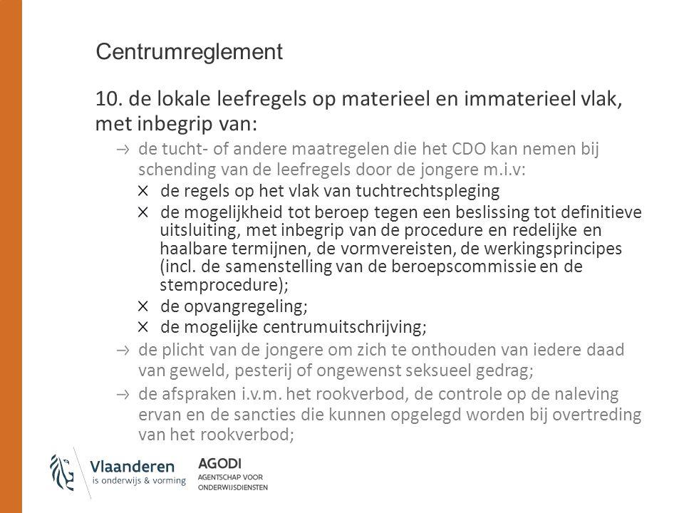 Centrumreglement 10.