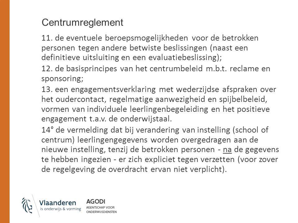 Centrumreglement 11.