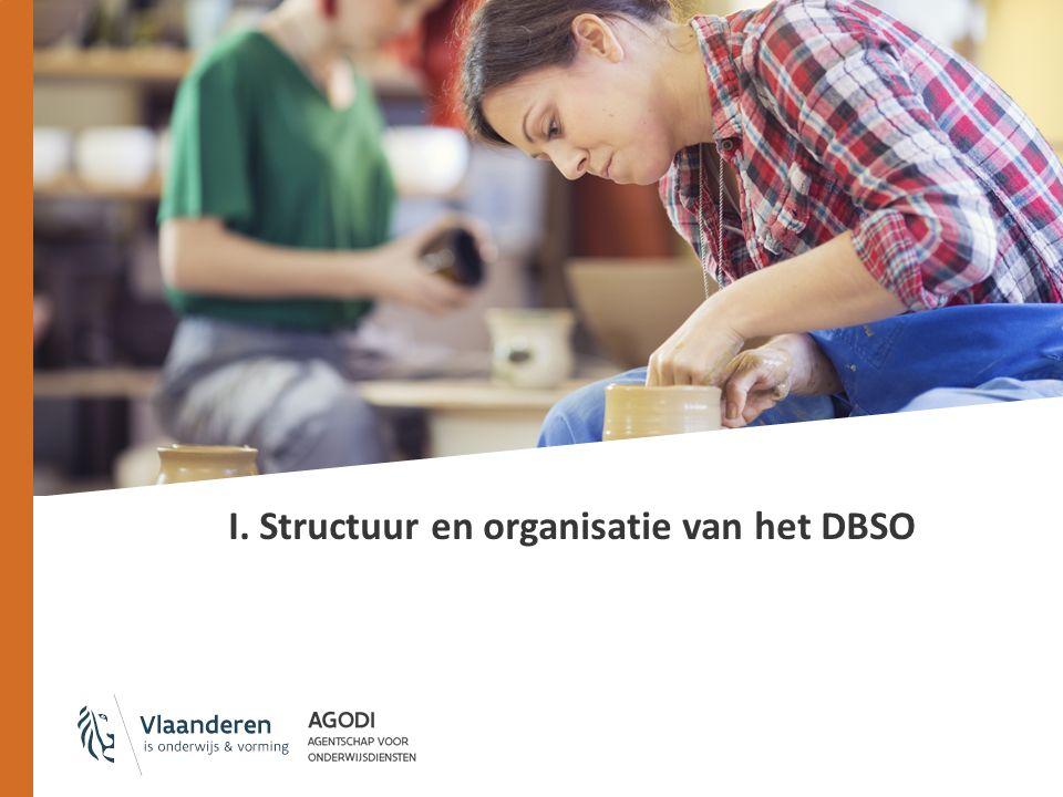 I. Structuur en organisatie van het DBSO