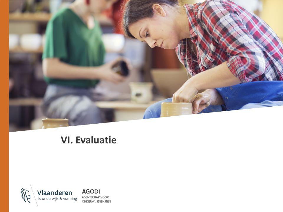 VI. Evaluatie
