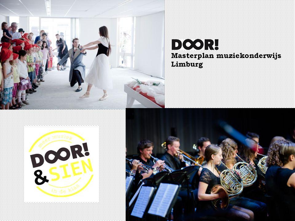 Masterplan muziekonderwijs Limburg