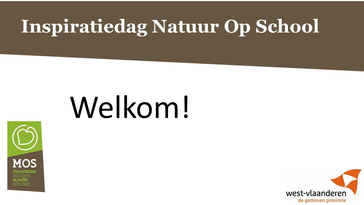 Inspiratiedag Natuur Op School Welkom!