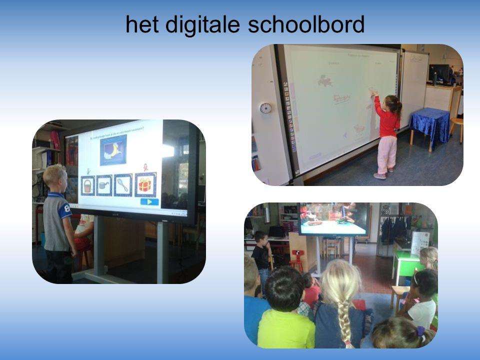 het digitale schoolbord