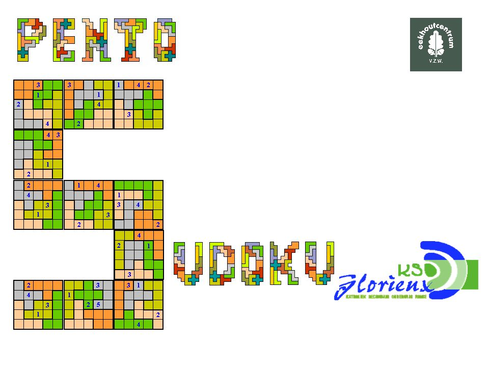 Sudoku-light wedstrijd We zochten een opgave met 4 startcijfers voor vraag 4 Deze opgave is nog mooier omdat ze symmetrisch is.