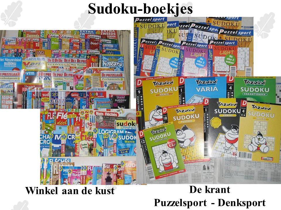 Sudoku-broertjes Hitori Som-Sudoku = Killer Kakuro Kangoeroewedstrijd