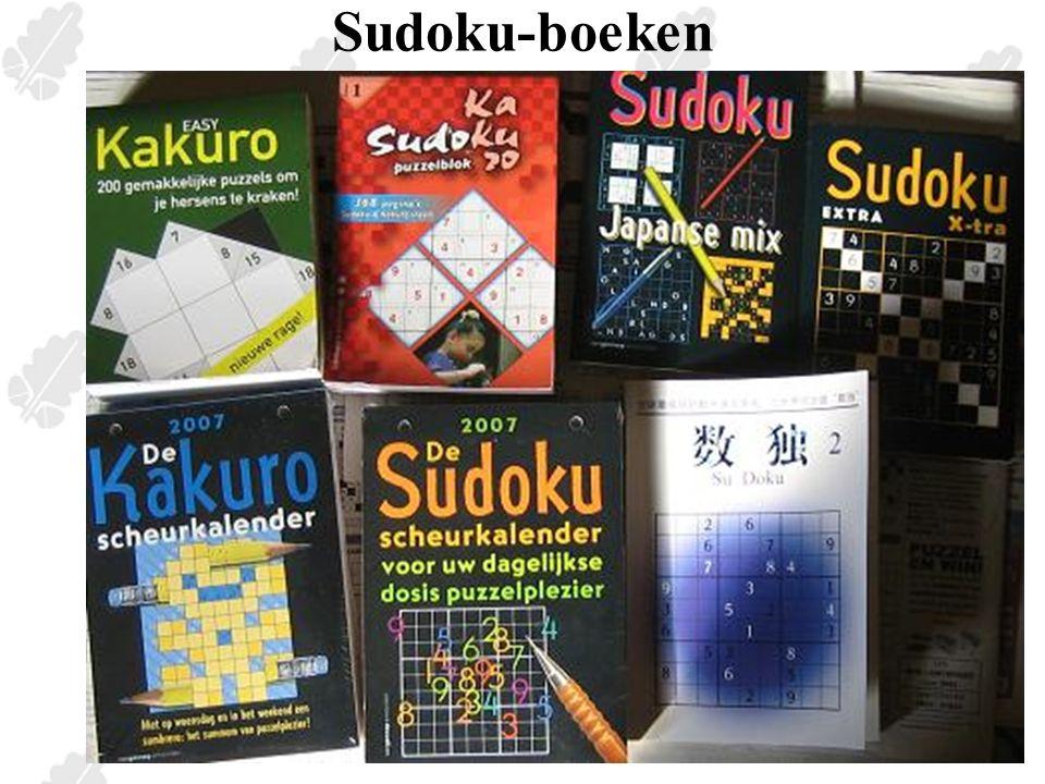 Bekijken van het sudokuveld Hexomino's die de ontvouwing van een kubus zijn