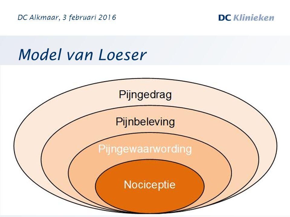 Model van Loeser DC Alkmaar, 3 februari 2016