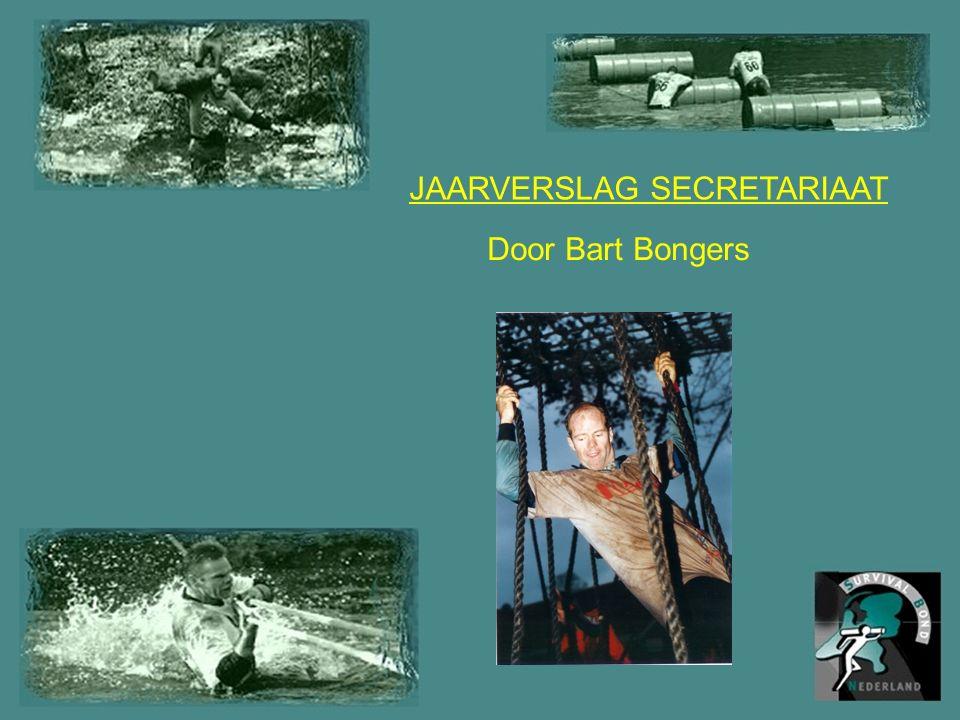 JAARVERSLAG SECRETARIAAT Door Bart Bongers