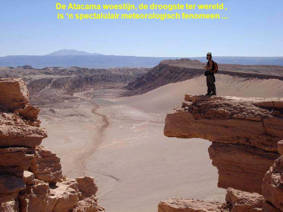 In deze '' niet aardse woestijn '' heeft de NASA de karretjes die naar Mars zouden meegaan, uitgetest...
