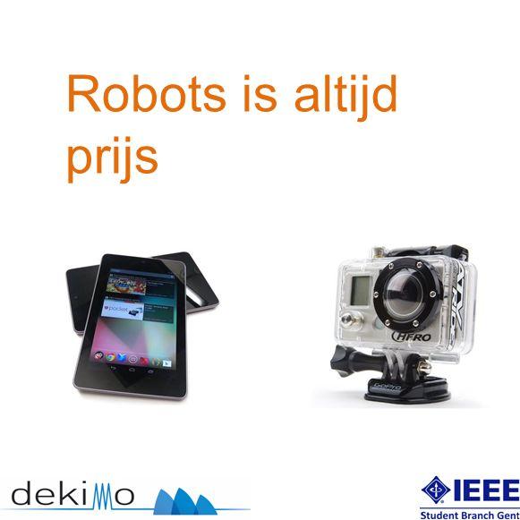 Robots is altijd prijs