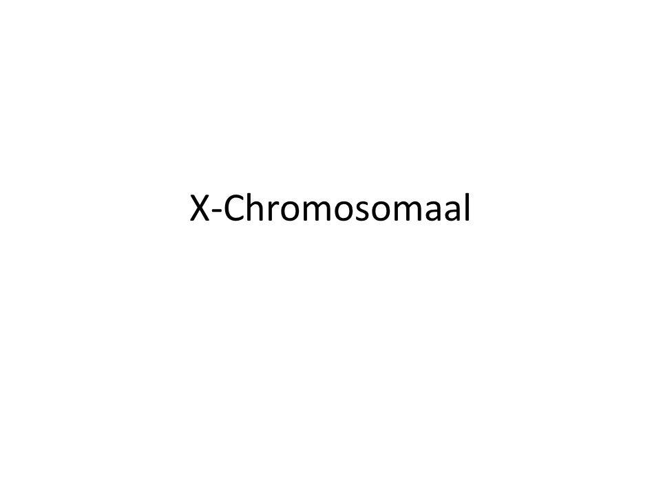 X-Chromosomaal
