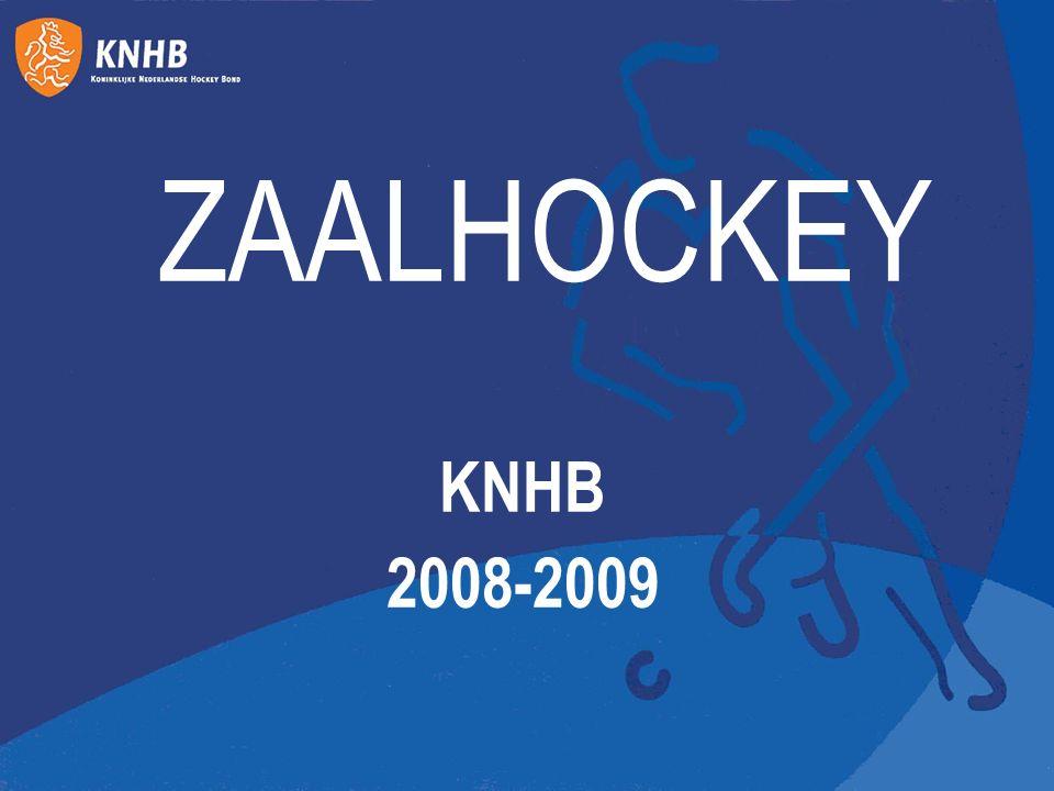 ZAALHOCKEY KNHB 2008-2009