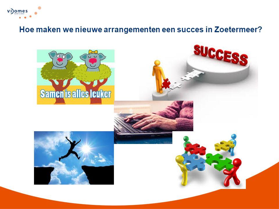 Hoe maken we nieuwe arrangementen een succes in Zoetermeer