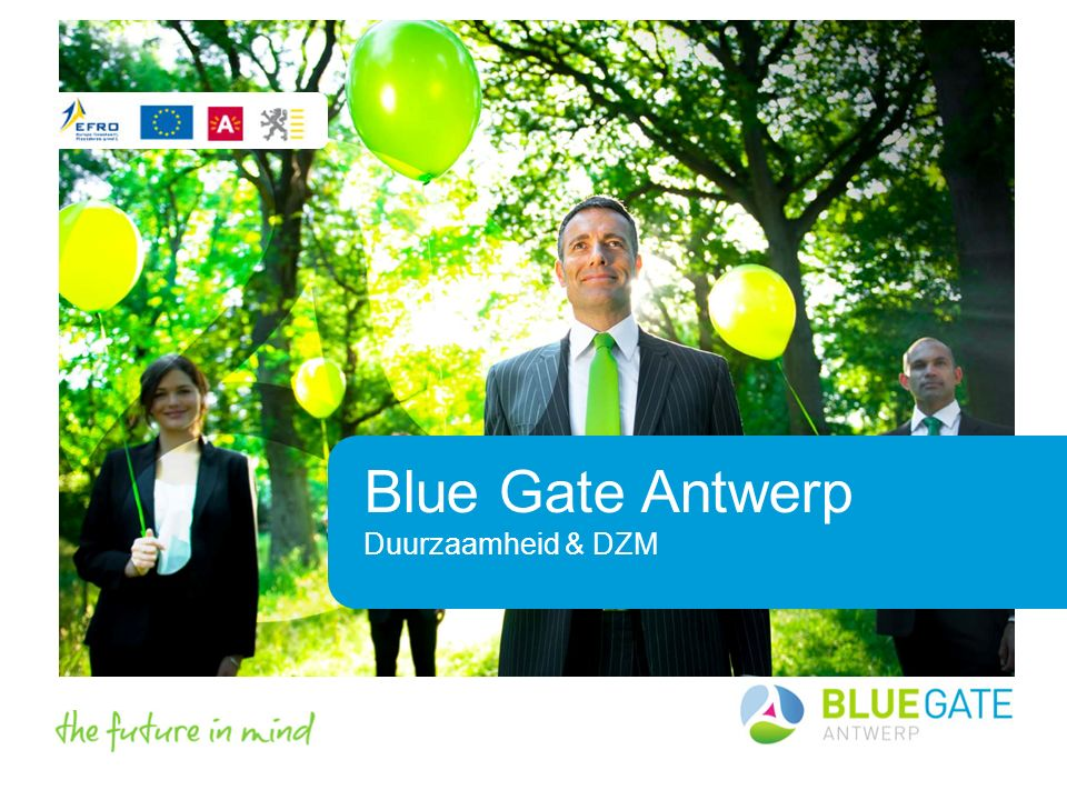 Blue Gate Antwerp Duurzaamheid & DZM