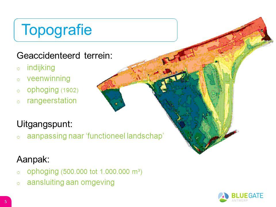 Verontreiniging met: o minerale olie o PAK o zware metalen Uitgangspunt: o sanering noodzakelijk Aanpak: o uitgraven en on-site reinigen + hergebruik o vergraven + hergebruik Milieupassief 6