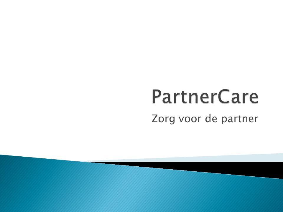  PartnerCare levert maatwerk ondersteuning aan de partner van patiënten met een ongeneeslijke en levensbedreigende ziekte die relatief gezien nog maar korte tijd van leven hebben.