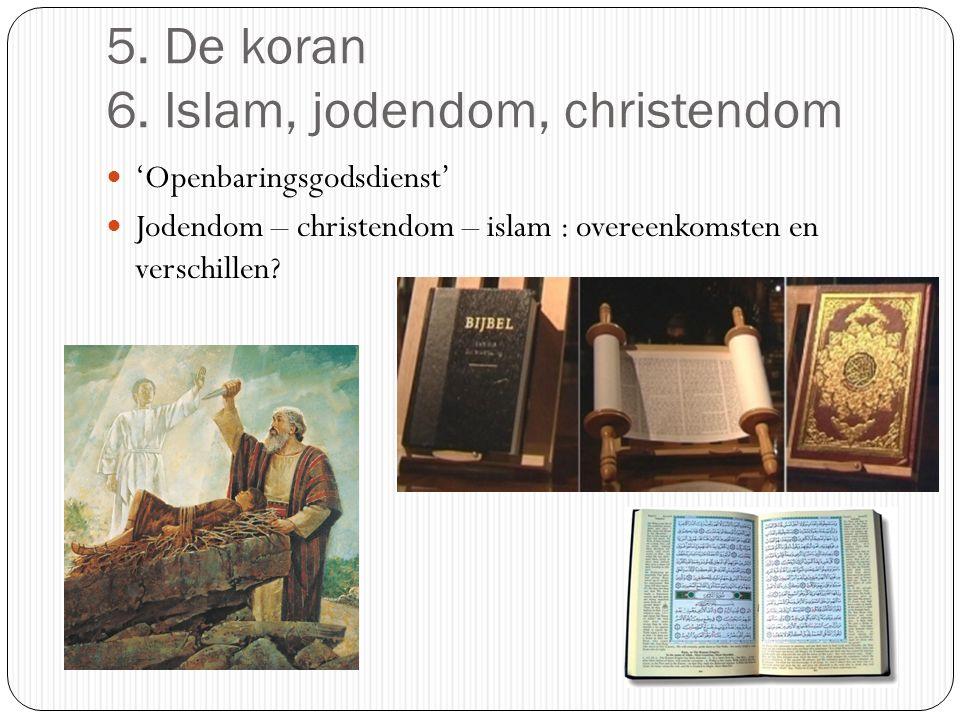 7. De Vijf Pijlers van de islam