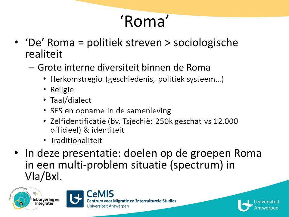 Een 'Roma'-probleem.