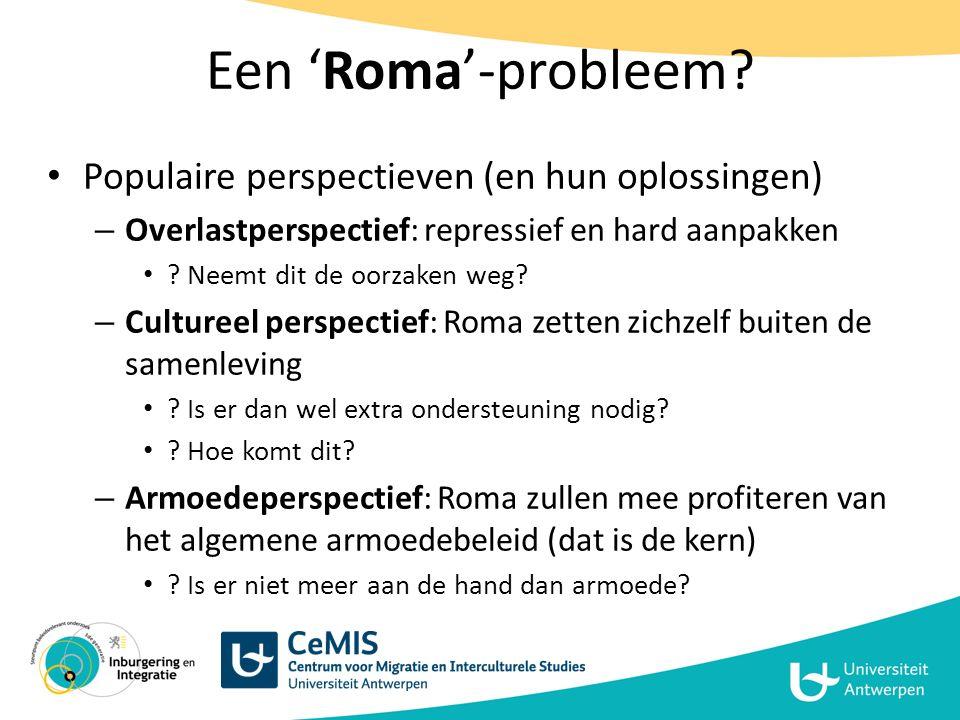 Roma en sociale mobiliteit Poging tot meer volledige analyse – Adhv 3 theoretische concepten (P.