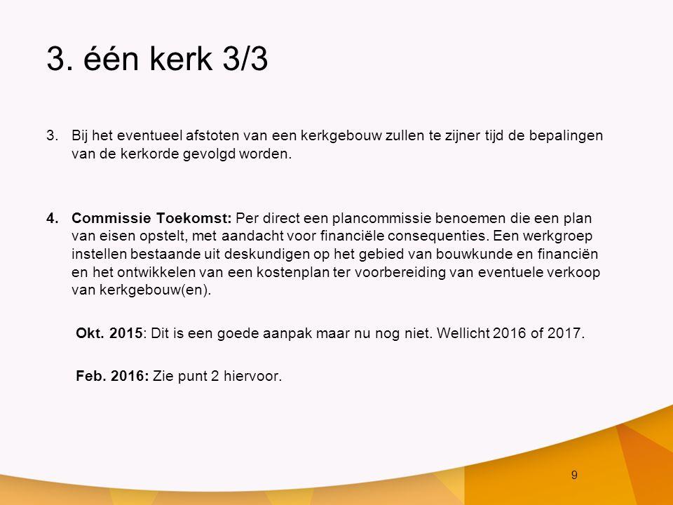 20 7.Financiën 3/3 Actiepunten n.a.v.