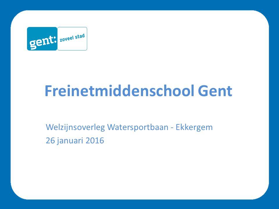 Freinetmiddenschool Gent nieuwbouw ni