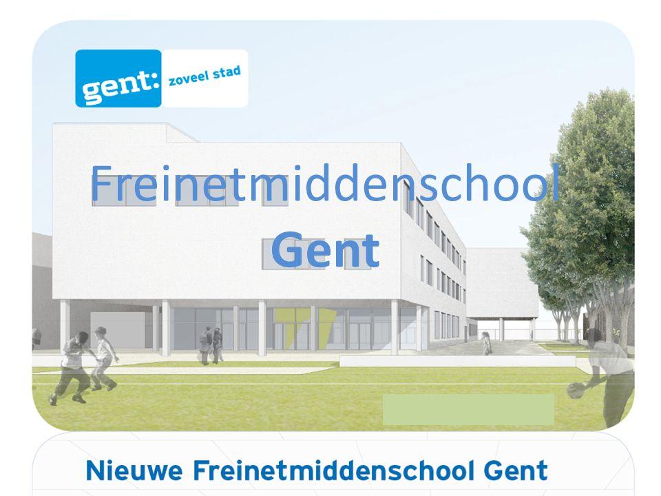 Freinetmiddenschool Gent nieuwbouw