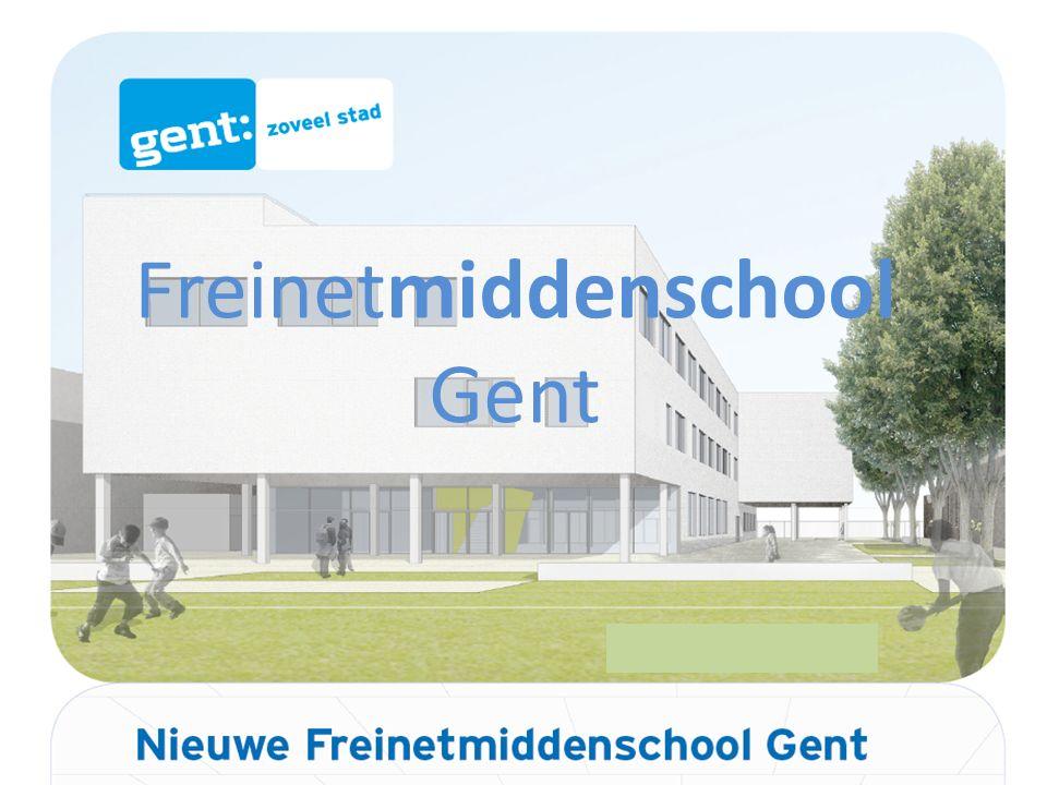 Freinetmiddenschool Gent Voor het 2 e leerjaar A en het 2 e beroepsvoorbereidend leerjaar blijven de huidige lessentabellen gelden.