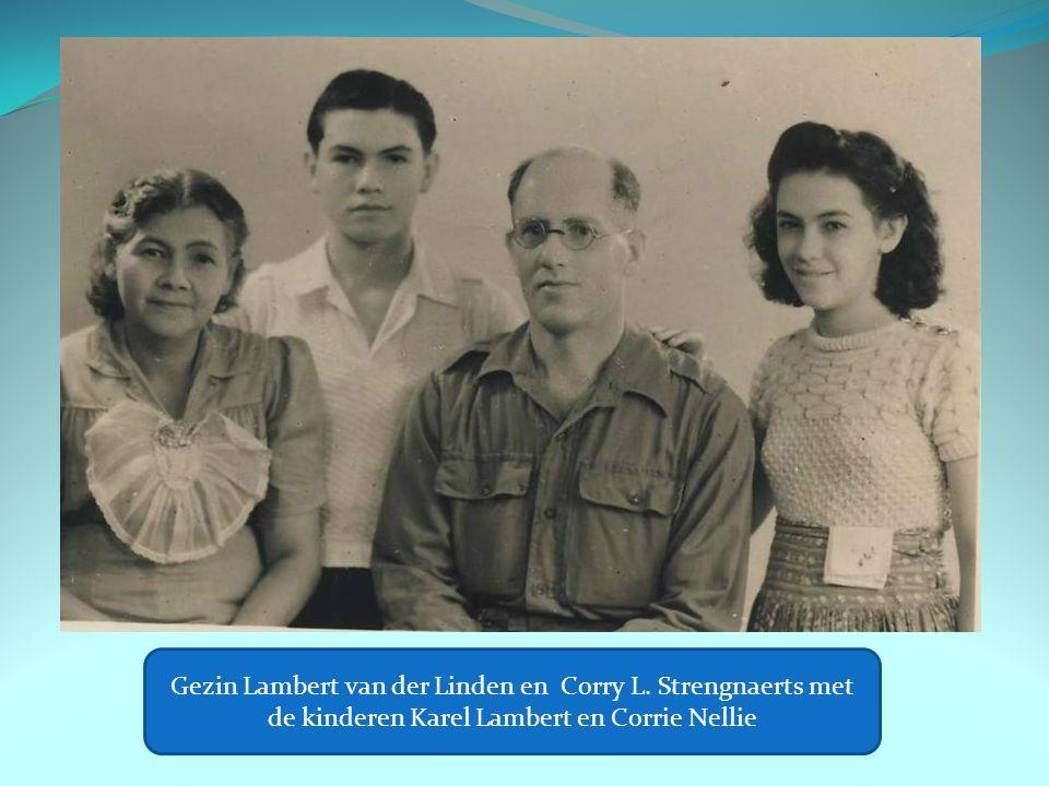 Gezin Lambert van der Linden en Corry L.