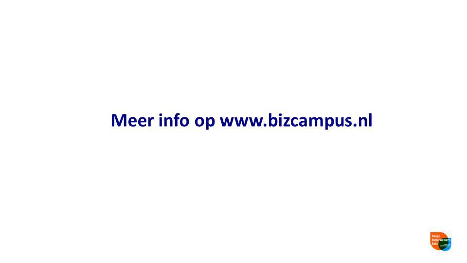 Meer info op www.bizcampus.nl