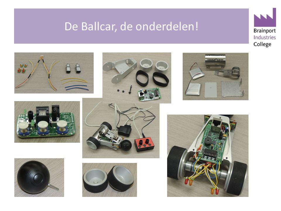 De Ballcar, de onderdelen!