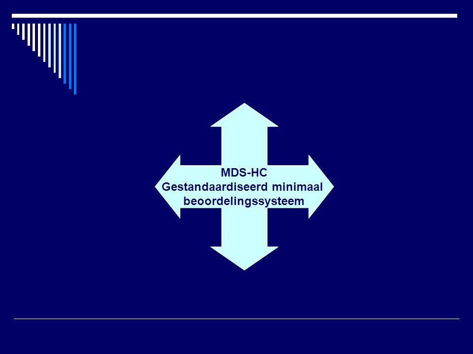 MDS-HC Gestandaardiseerd minimaal beoordelingssysteem