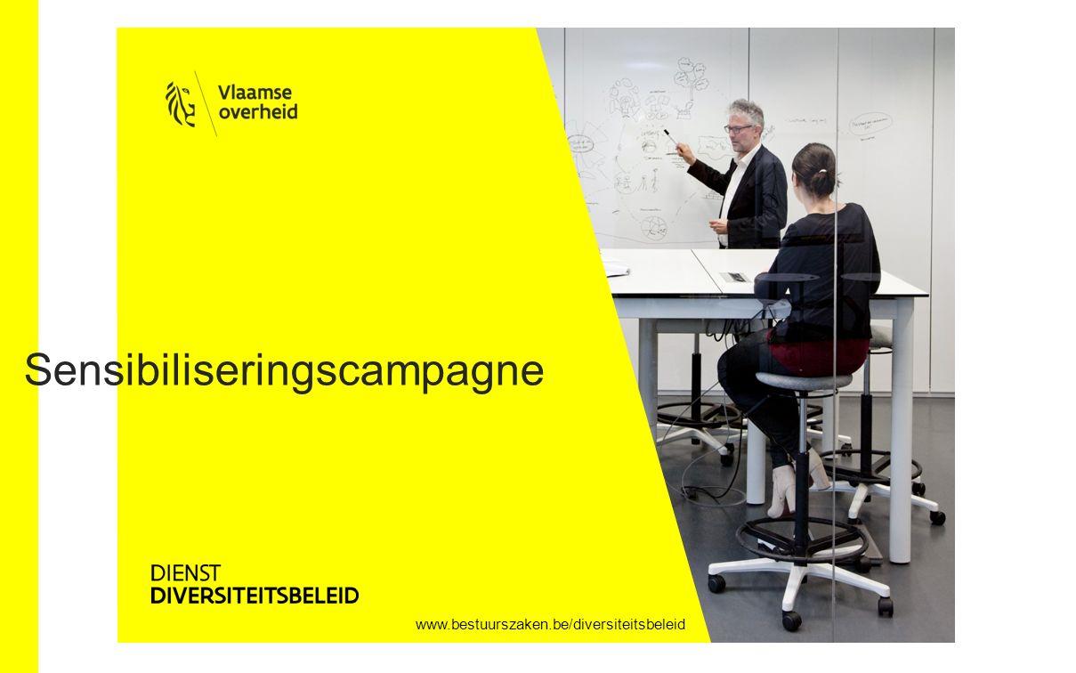 www.bestuurszaken.be/diversiteitsbeleid Sensibiliseringscampagne