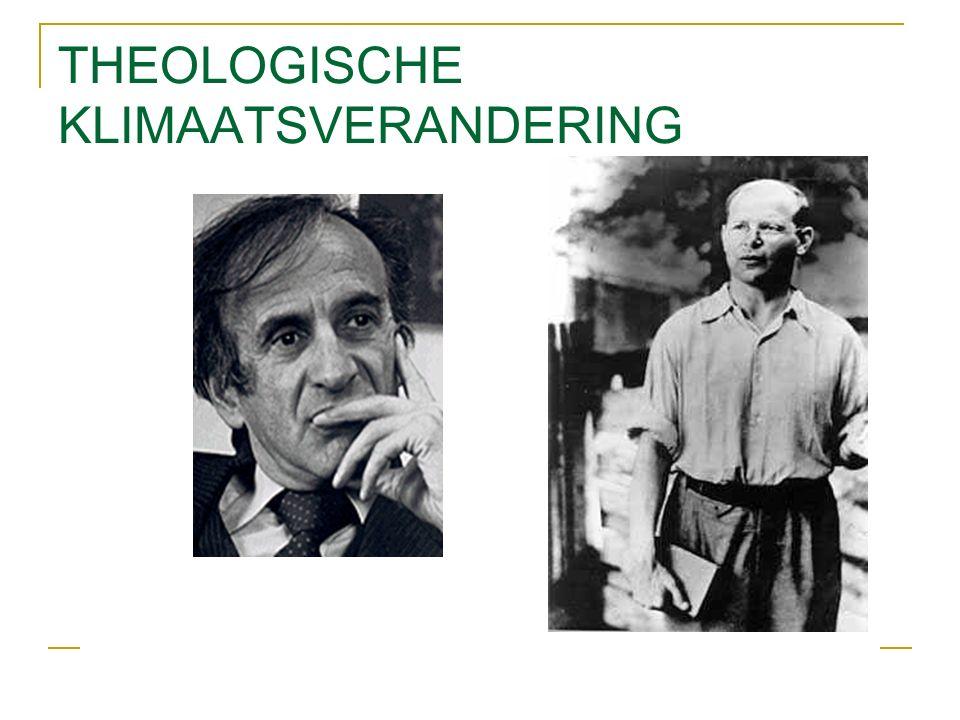 THEOLOGISCHE KLIMAATSVERANDERING