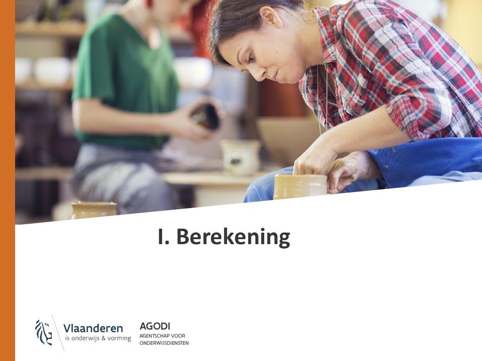 I. Berekening