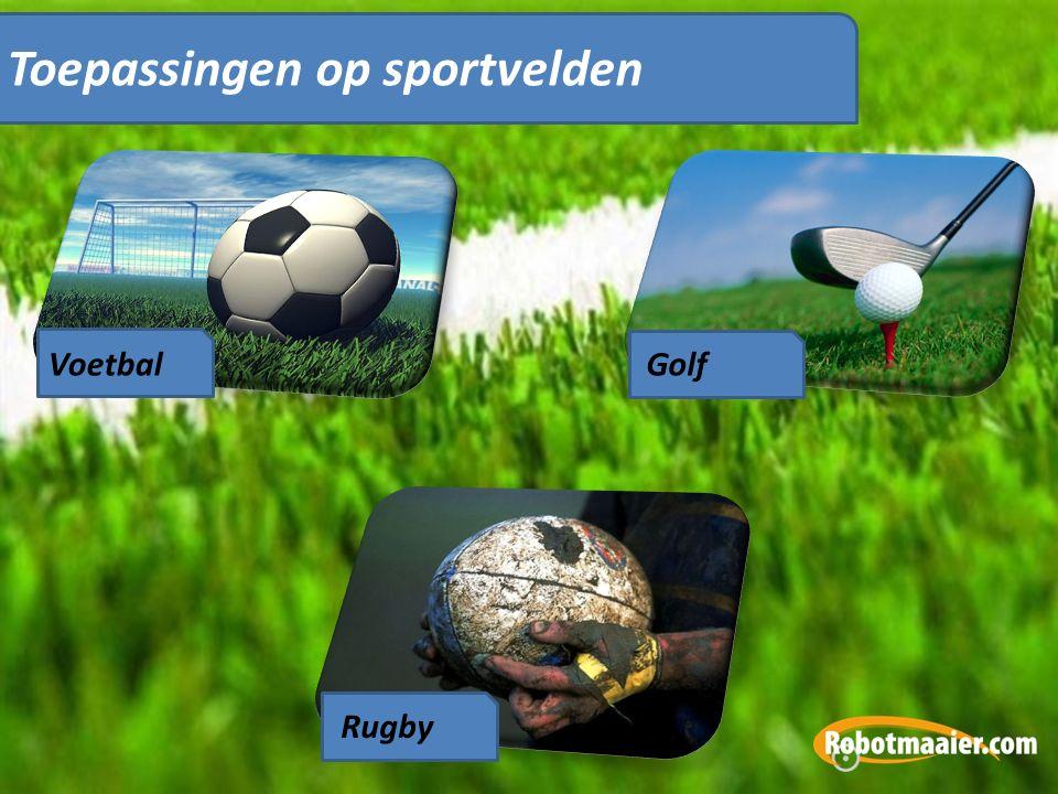 VoetbalGolf Rugby Toepassingen op sportvelden