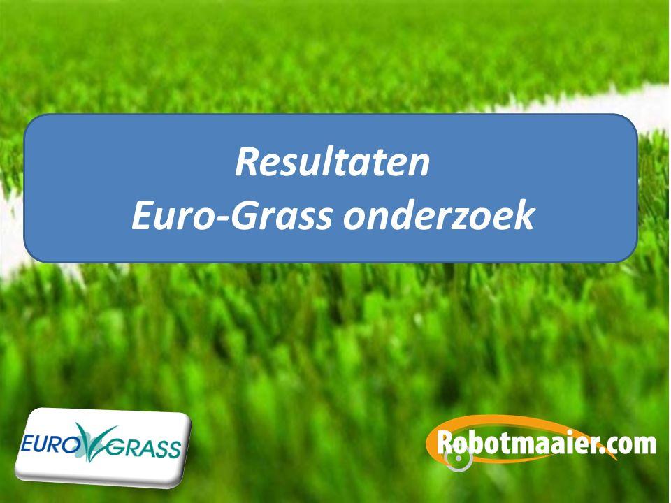Resultaten Euro-Grass onderzoek