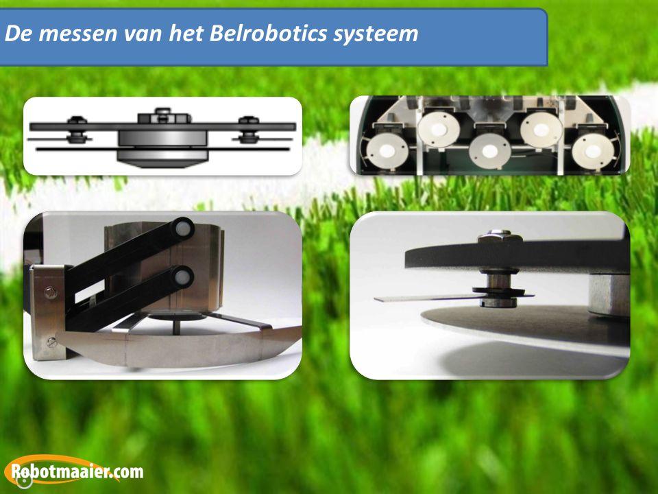 De messen van het Belrobotics systeem
