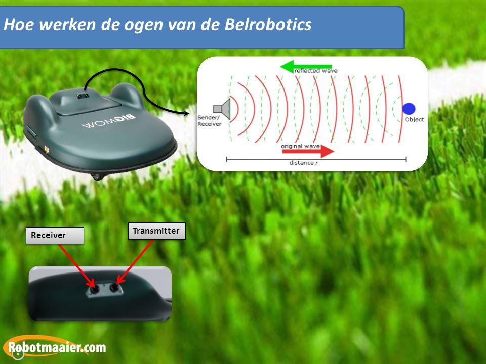 Hoe werken de ogen van de Belrobotics Receiver Transmitter