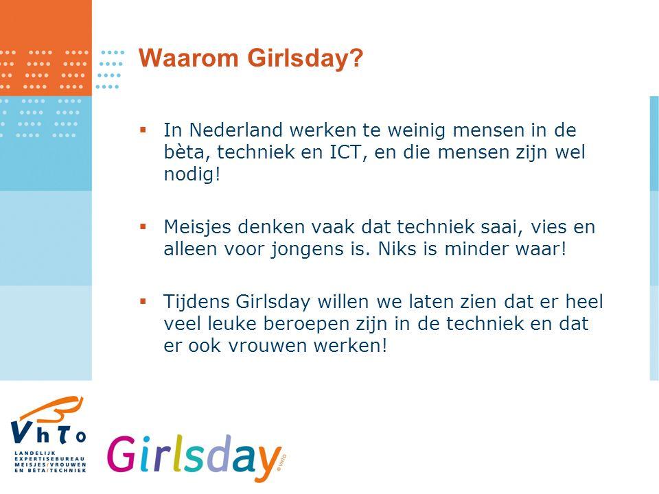 Waarom Girlsday.