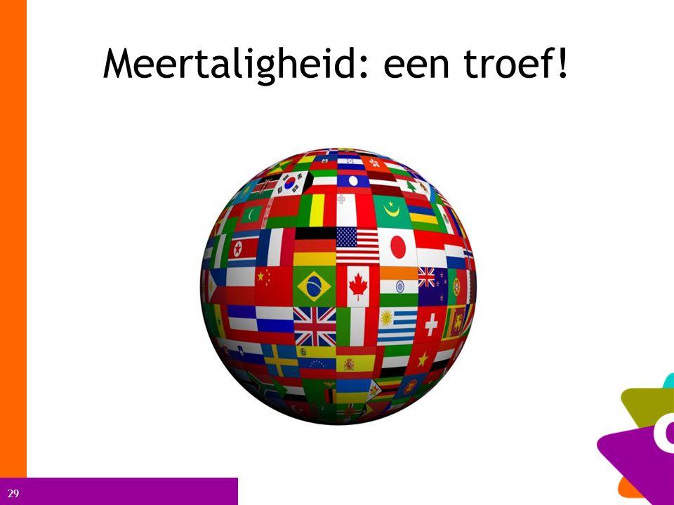 29 Meertaligheid: een troef!
